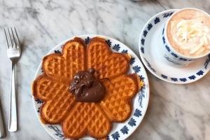 denmark Tivoli heart waffles